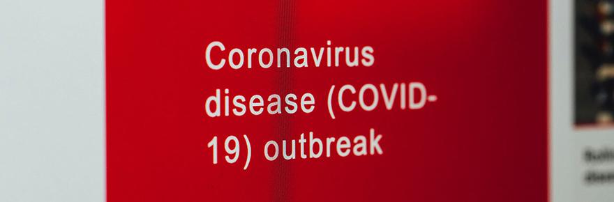 COVID outbreak image