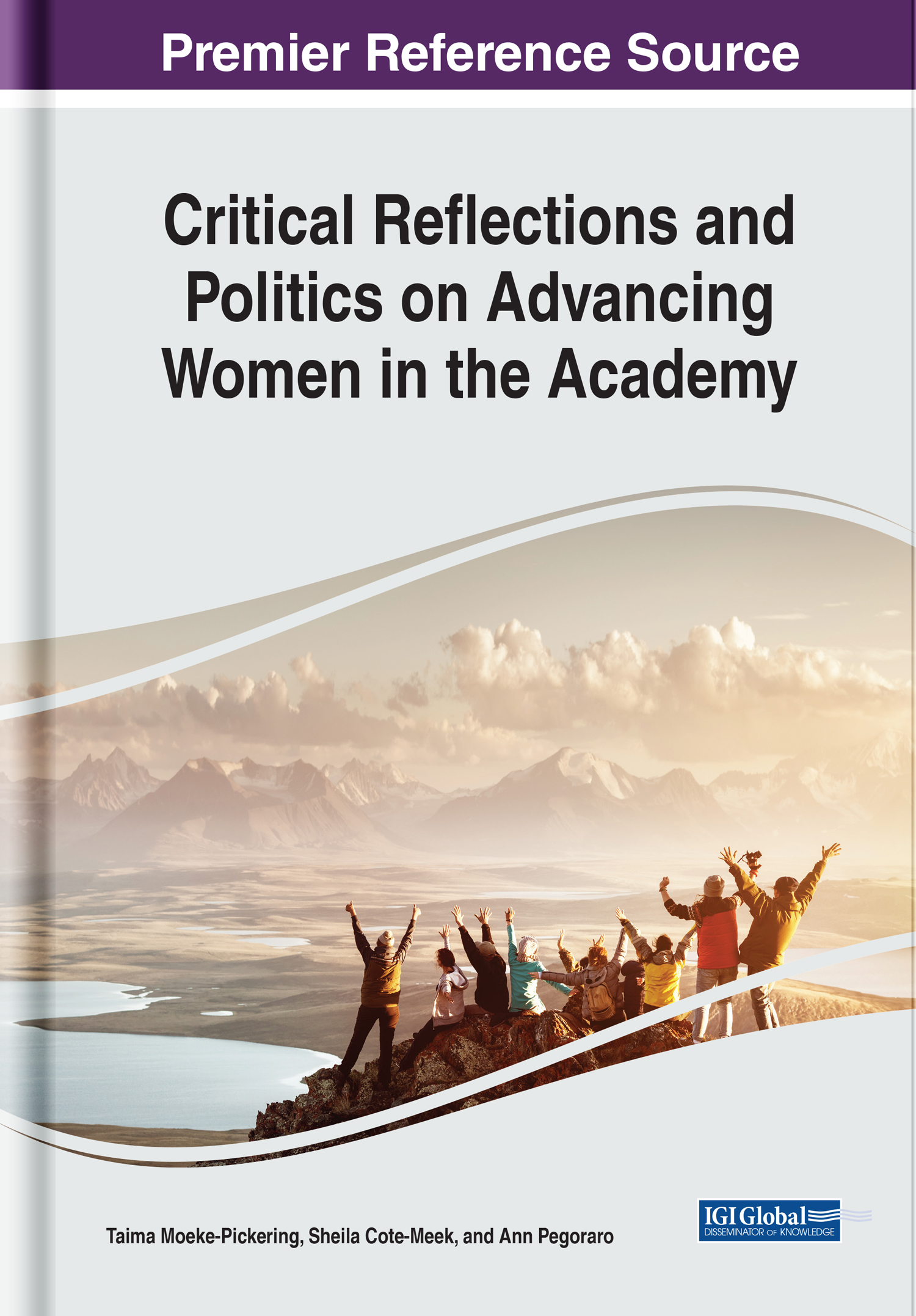 . The book, Critical Reflections and Politics on Advancing Women in the Academy