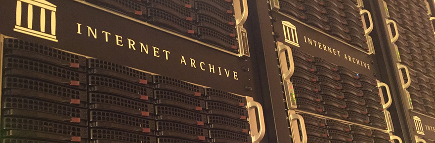 Internet Archives Project FEATURED image for the YFile email