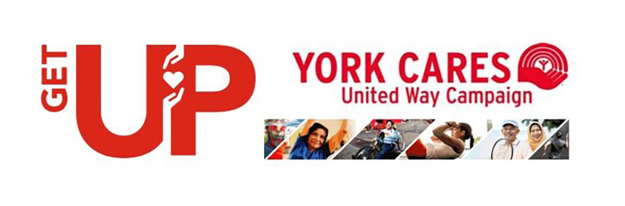 York Cares Get Up promo graphic