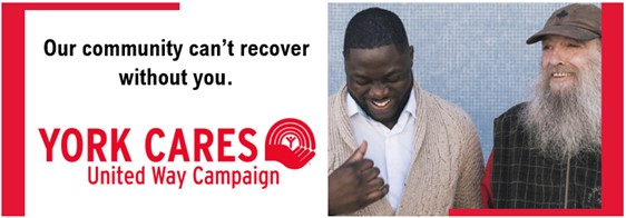 YU Cares United Way campaign extension image for 2020