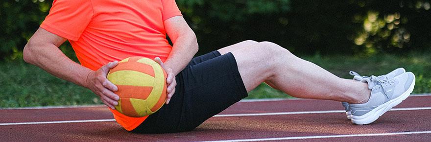 senior exercise ball