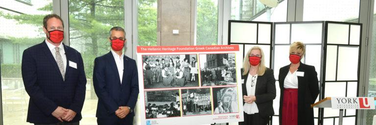 Hellenic Heritage Foundation donation will highlight experiences of Greek diaspora in Canada