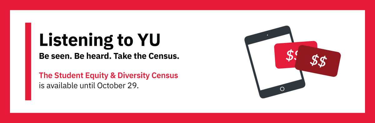 An advertisement for the Student Equity & Diversity Census