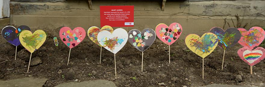 The Heart Garden at Skennen'kó:wa Gamig