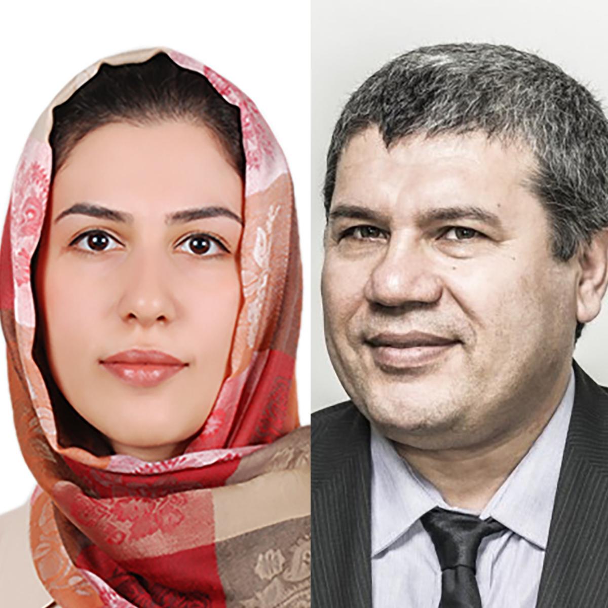 Postdoctoral Fellow Saghi Forouhi and Assistant Professlor Ebrahim Ghafar-Zadeh