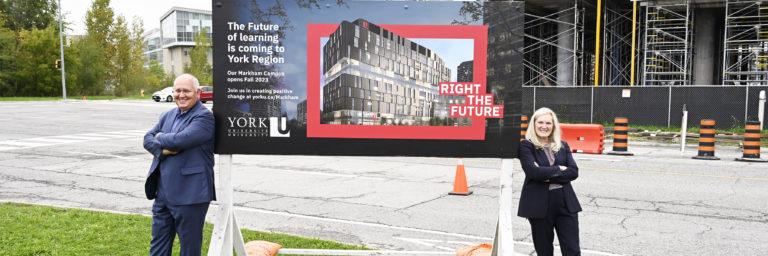Markham Campus building starts to take shape